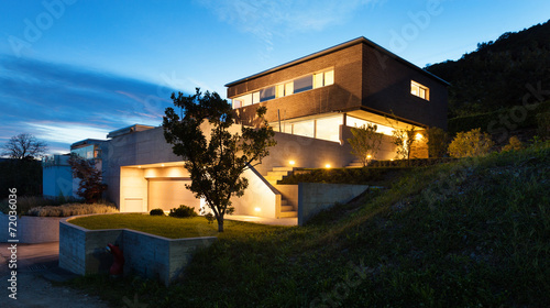 Architecture modern design, house - 72036036