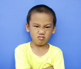 Shot of a Cute Child with a Silly Expression
