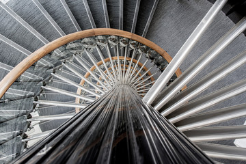 Détail d'escalier