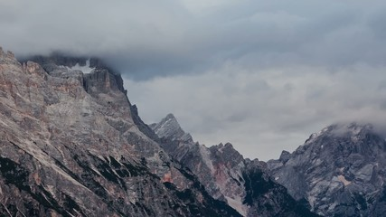 Dolomites in Clouds