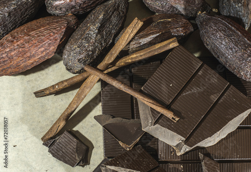 Chocolate bar crushed © Deyan Georgiev