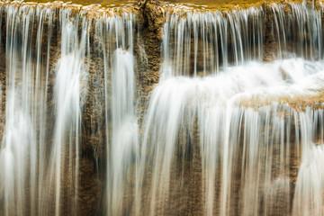 Huay Maekamin Waterfall  in Kanchanaburi, Thailand