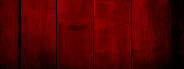 Red old vintage wood background