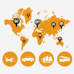 transportation in world wide