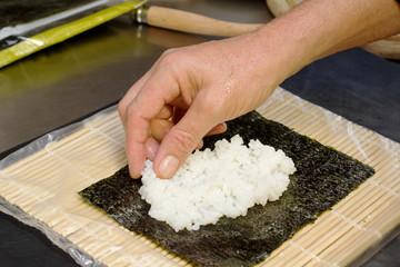 uramaki preparation