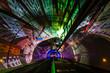 Leinwanddruck Bild - Tunnel Modes Doux de la Croix-Rousse