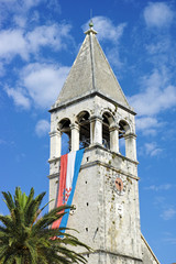 Tower in Trogir, Croatia.