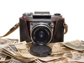 alter antiker analoger fotoapparat