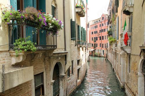 Kanał w Wenecji.