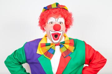 """""""oh"""" sagender clown"""