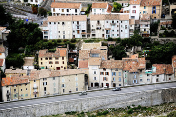 The French town of Anduze