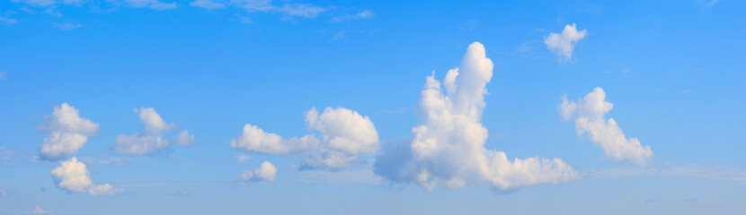 Sky panorama.