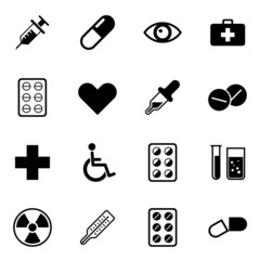 Medicine Health Icons Iconset