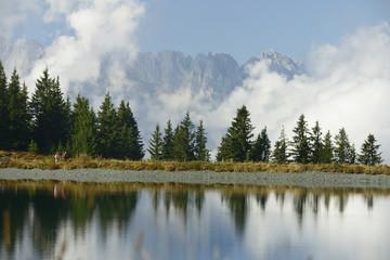 Ellmau - Herbst am Tanzbodensee