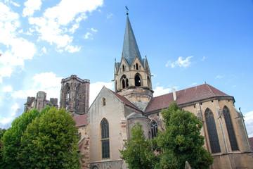 Eglise ND de l'Assomption, Rouffach, Alsace, Haut Rhin