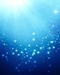 abstract shiny blue festive background