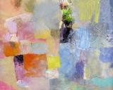 Fototapety malerei abstrakt opak lasierend