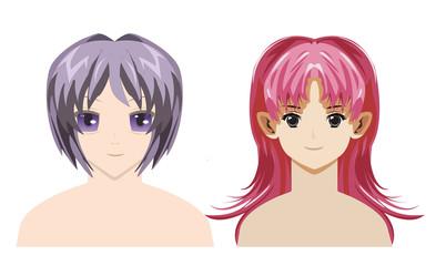 anime vectors