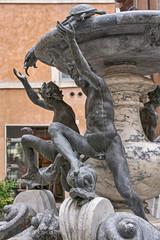 Turtle fountain in Rome