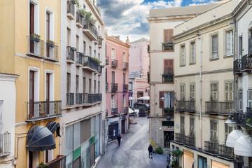 Sardegna, Cagliari, Via Manno