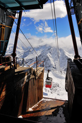 Old ski lift station
