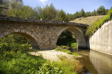 Old Roman empire bridge