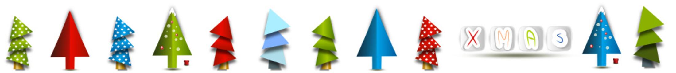 weihnachtsbaum banner xmas