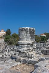 Part of column