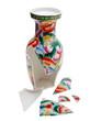 defekte chinesische Vase