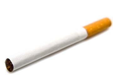 horizontal cigarette