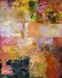 malerei abstrakt herbstfarben
