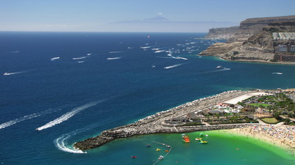 Puerto Rico, Gran Canaria - Senora of the Carmen Festival.