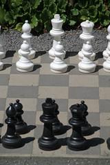 Schachspiel für draussen