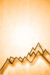 Bergwelt Skizze