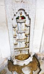 marble Fountain of Tears in Khan's Palace, Crimea