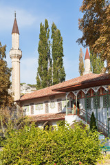 Big Khan Mosque of Khan's Palace in Crimea