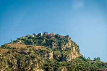 Sicilian picturesque village,Castelmola , Messina.