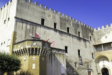 Pitigliano, Tuscany, old city. Color image