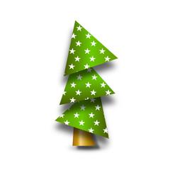 weihnachtsbaum papier grün symbol
