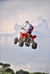 Freestyle Quad motocross
