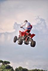 Freestyle Quad motocross