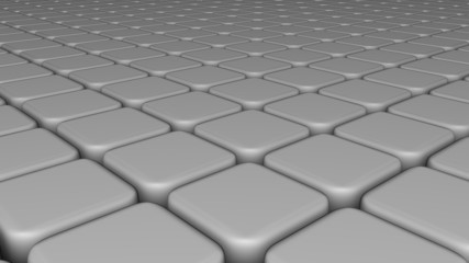Abstract background of 3d blocks, cubes, box, floor 3d render