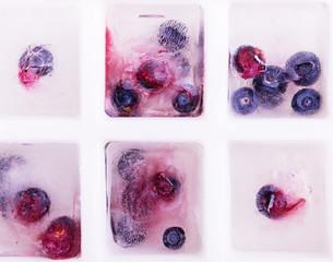 blueberry berry ice