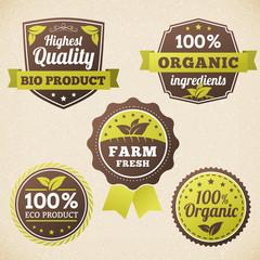 set Farm organic eco label