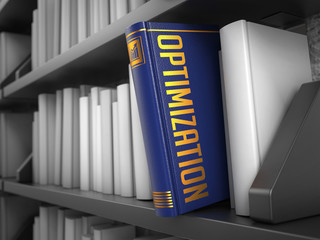 Optimization - Title of Blue Book.