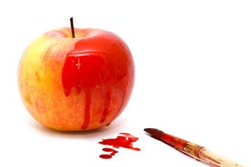 painted apple