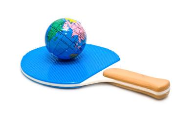 racket and globe