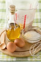 Basic supplies for baking