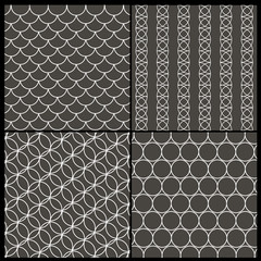 Set of Abstract Background Patterns