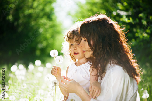 daughter with her mother together outdoors - 72060226